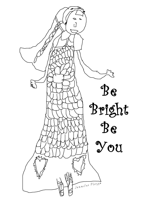 colour in be bright be you